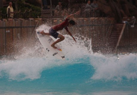 King of the Pool – Evan Geiselman wins 2009 King of the Groms Qualifier at Disney World's Typhoon Lagoon